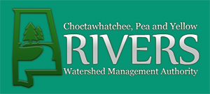 Logo of the Choctawhatchee, Pea and Yellow Rivers Watershed Management Authority