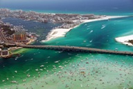 Picture of Destin Harbour and crab island