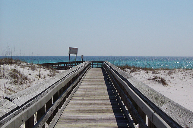 Located Between Pelican Isle And The Nautilus This Park Is One Of Seven Beach Accessways On Okaloosa Island With Dune Walkovers To Gulf Mexico
